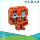 Utlのコネクターの製造DINの柵の端子ブロックの強さのタイプ