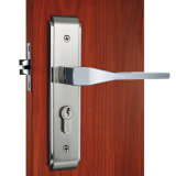 O melhor Selling Zinc Alloy Safe Privacy Door Lock no cetim Nickel