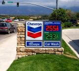 Segno di prezzi di combustibile del LED, segni di prezzi di combustibile, segni di prezzi della benzina del LED