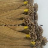 Europäische Remy blonde flache Spitze-Menschenhaar-Extensionen