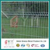Триангулярный тип загородка /3D v панель загородки сваренной сетки