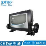 STATION THERMALE de jacuzzi de famille avec TV imperméable à l'eau et DVD (M-3357)