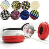 De hoge Milieuvriendelijke Vouwbare Plastic Hoofdtelefoon van de Hardnekkigheid