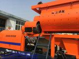 Mezclador concreto del acoplado con la bomba (40m3/h)