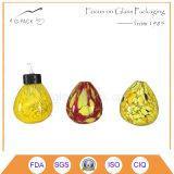 小型のガラスオイルまたは燈油の卓上スタンド、装飾的なランタン