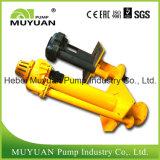 Pompe submersible verticale lourde de doublure en caoutchouc