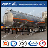 Cimc Huajun Oblong-Shaped 알루미늄 합금 Fuel/Gasoline/LPG/Oil/Liquid 유조선