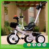 Tricycle de 2016 de la meilleure sûreté des prix de gosses de poussée enfants bon marché de vente chaud de Trike pour le bébé, bâti en métal, EVA/tricycle de bébé pneu d'air