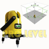 Het groene zelf-Nivelleert Multi-Line Niveau van de Laser 2V1h1d (sk-213G)
