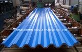 0.15/0.18*665mm Afrika vorgestrichenes Stahlfarben-Dach-Blatt des dach-Profile/PPGI gewölbtes für Stahlhaus