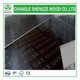 madera contrachapada Shuttering impermeable impresa 18m m de la insignia