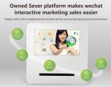 22 pollici di Webchat dell'affissione a cristalli liquidi di schermo di stampa