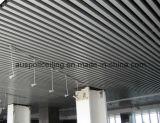 Ый потолок паза линейный алюминиевый