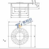 Bonne qualité Salle de bains / douche Drain de plancher (T1055)
