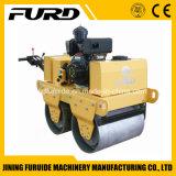 Mini rullo dell'asfalto della mano del doppio timpano diesel da vendere (FYL-S600C)