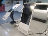 43inch 휴대용 광고 기계는 이동되고 접힐 수 있다