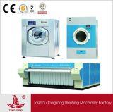 De commerciële Apparatuur van de Wasserij (Wasmachine, droger, ironer, omslag)
