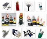 Cable de transmisión forrado PVC de aluminio del aislante de XLPE