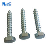 Kohlenstoff Steel Hex Lag Wood Screws mit DIN571 Zinc Plated