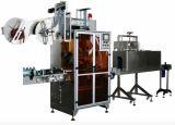 Полноавтоматический напиток разливает застенчивый машину для прикрепления этикеток по бутылкам втулки