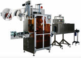 Full-Automatic Getränk füllt Schrumpfhülsen-Etikettiermaschine ab