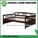 Base de madeira do sofá do dobro da mobília da sala de visitas (W-B-0061)