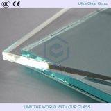 3.2mm / 4mm de vidrio templado Ultra Clear Float utilizado para invernadero