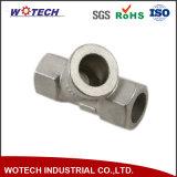 Kundenspezifische Investitions-Gussteil-Rohrfittings Ppap für Maschinerie