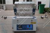 horno de recocido eléctrico del tubo de 1200deg c para los institutos y las universidades de investigación