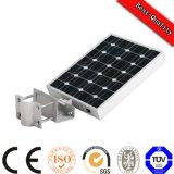 Luz toda do diodo emissor de luz da bateria do painel solar em uma luz Integrated da potência solar da C.C. 12V