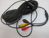 macchina fotografica subacquea di controllo di Wateproof del cavo di lunghezza dei fino a 100 tester con 8LED/IR850nm/940nm per l'esplorazione/pesca