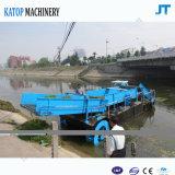 Barco acuático de la limpieza de la superficie del agua de la máquina segador de Weed