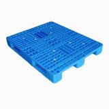 superfície lateral durável do engranzamento da entrada 4-Way pálete plástica da única para o racking da pálete