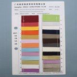 Cuoio sintetico dell'unità di elaborazione del raso brillante per il tessuto della protezione dei sacchetti TC