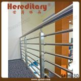 Trilhos da tubulação do cabo do Guardrail DIY do aço inoxidável para a escadaria interna (SJ-H002)