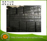 Échangeur de chaleur à ailettes de tube de bobine d'en cuivre de prix usine