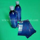 Étiquette rétrécissable faite sur commande de bouteille de chemise