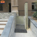 3m Hydraulic Vertical Wheelchair Lifts met Ce