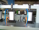 Ligne feuilletante de roulis chaud dans le travail du bois avec semi-automatique