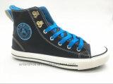 El color blanco ocasional ata para arriba los zapatos para los hombres (ET-LD160143M)