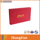 Rectángulo de papel de la insignia de la cartulina cosmética de encargo del embalaje