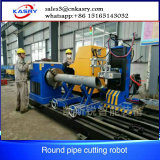 Máquina de estaca redonda de aço da câmara de ar do CNC de Advantech da manufatura