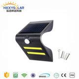 Iluminación solar de la seguridad de la luz inductiva de la pared con el sensor de movimiento