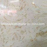 Mattonelle di pavimentazione di marmo bianche artificiali Polished di Calacatta per il pavimento decorativo