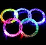 Logo Printed (4019)를 가진 번쩍이는 LED Bracelets
