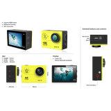"""Action Kameras 2.0 de HD 4k de """" appareil-photo extérieur de WiFi imperméable à l'eau 170 degrés"""
