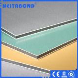 El compuesto de aluminio artesona el material de construcción (el ACP)