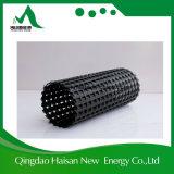 Géogrille en fibre de verre revêtue de bitume de 400-400kn / M de haute qualité pour la culture hydroponique