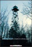 De gegalvaniseerde Toren van de Wacht van het Horloge van het Staal 4legs