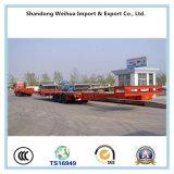 Betrag-und Faltblatt-Typ Lowbed halb Schlussteil für großen Geräten-Transport